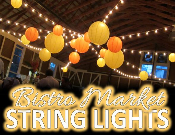 Wedding String Lights in Pittsfield and Berkshire County Mass.
