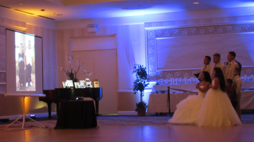 Double Video Screens Are The Only Way To Go For Venues With Split Seating Like Berkshire Hills Country Club And Of Pittsfield